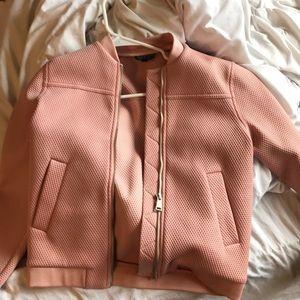 Top shop pink bomber jacket